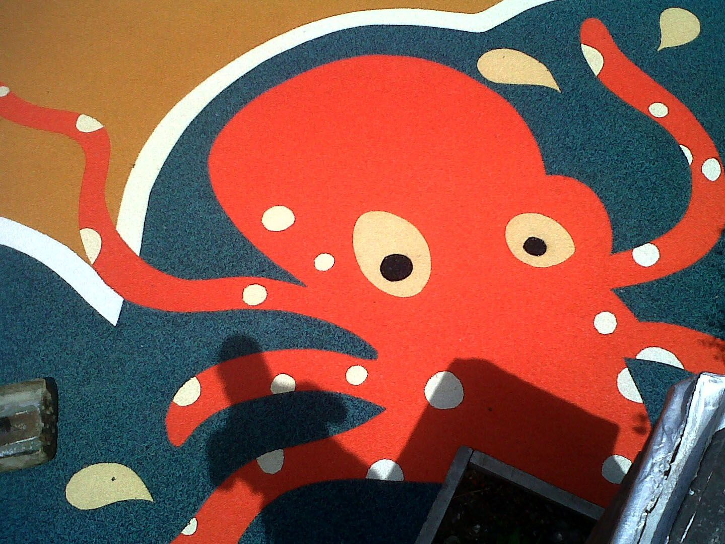 Octopus playground marking