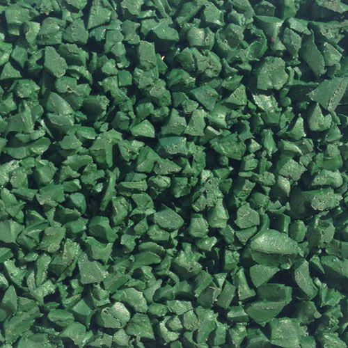 Rainbow green wet pour