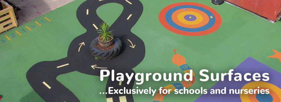playground safety surfaces for schools and nurseries