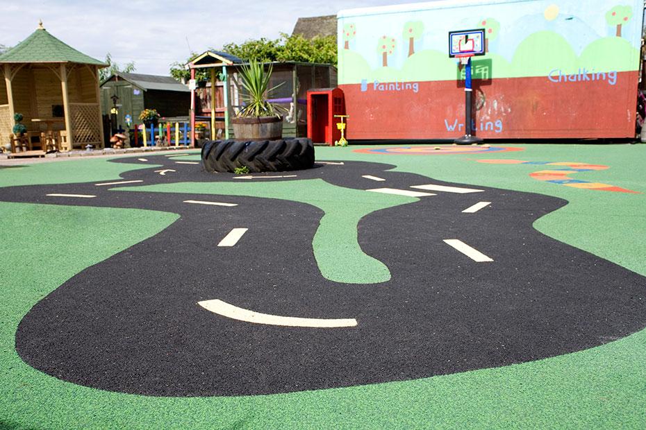 Playground Flooring Ideas Billy Bounce