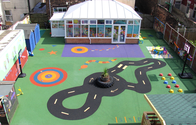 Playground flooring ideas billy bounce - Playground surfaces for home ...