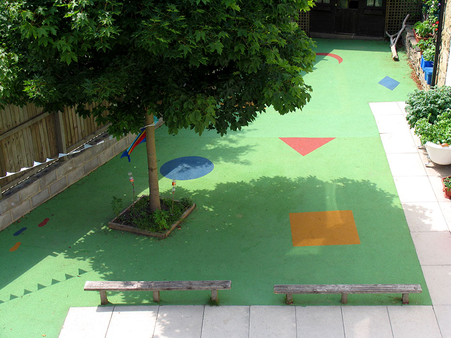 Wonderful Flooring Ideas For Playgrounds Of All Sizes