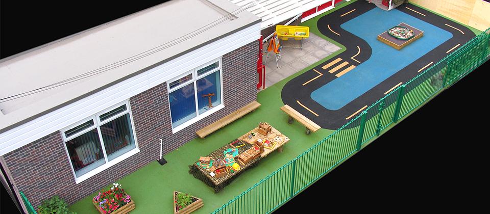 Nursery play area flooring