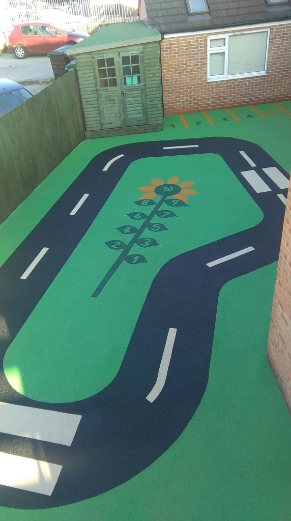 Play area flooring design
