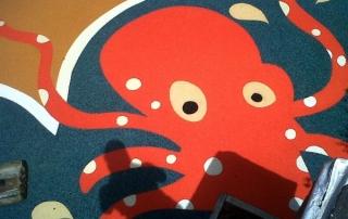 Octopus playground marking