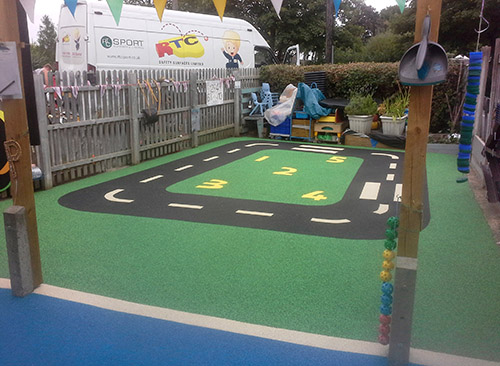 Nursery playground flooring