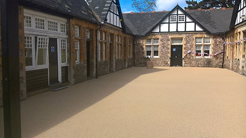 natural coloured play surfacing