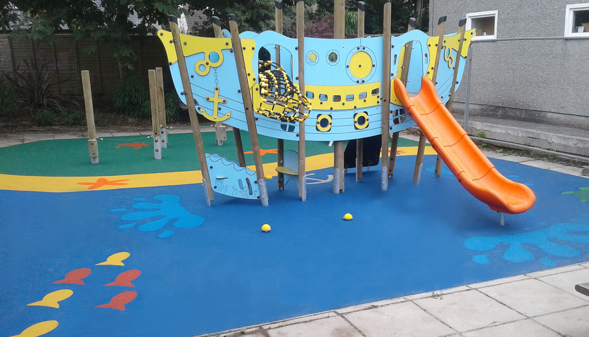 Playground Surfaces | Playground Safety Flooring | Billy Bounce