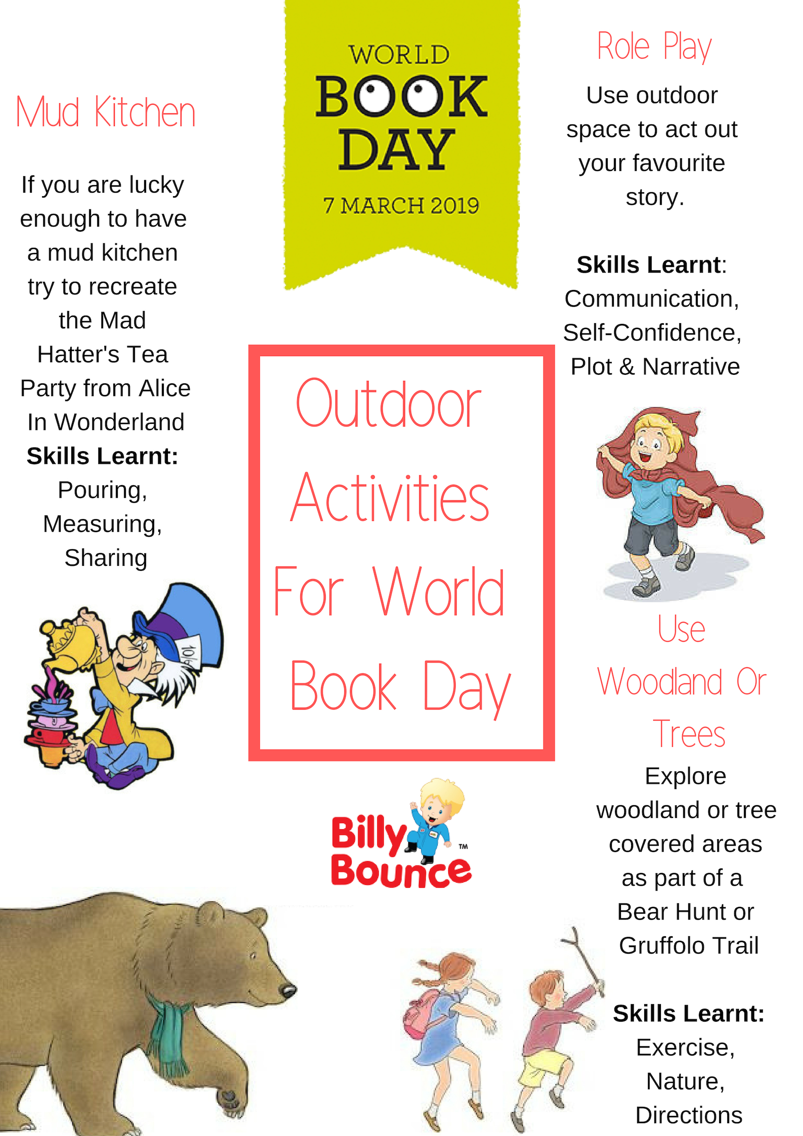 World Book Days - Outdoor Activities